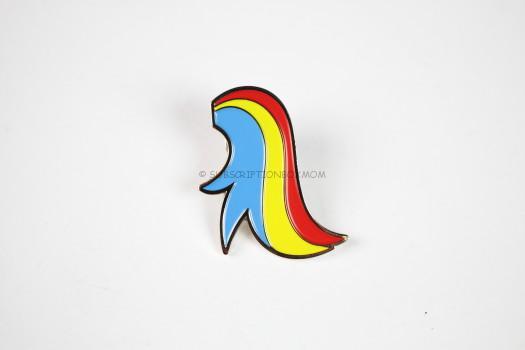 Brony Power Tail Anti-Bullying Pin