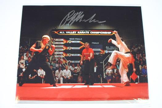 Ralph Macchio Karate Kid Signed Photo