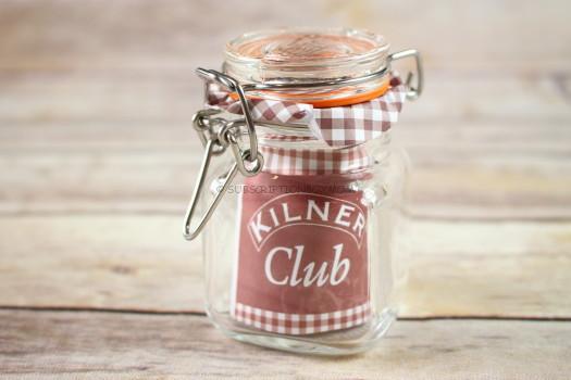 Kilner Square Clip Top Spice Jar