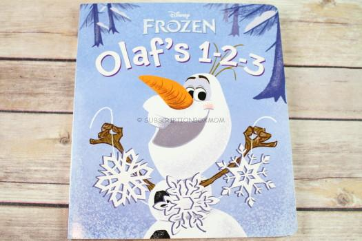 Olaf's 1-2-3 (Disney Frozen) (Glitter Board Book)by RH Disney