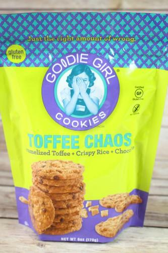Goodie Girl Cookies-Toffee Chaos