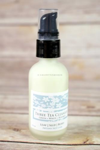 LeafSeedBerry Three Tea Cleanser