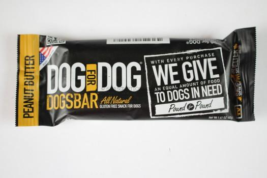 Dog for Dog Peanut Butter Dogsbar