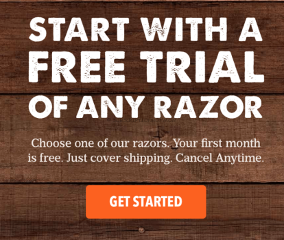 Dollar Shave Club Free Month
