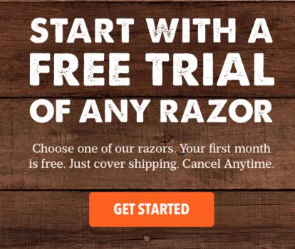 Dollar Shave Club Free Month
