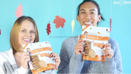 Pumpkin Spice Cookie Thins from Mrs. Thinster's