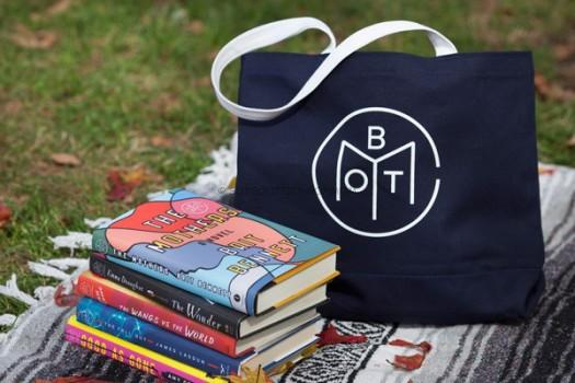 Image result for book of the month tote
