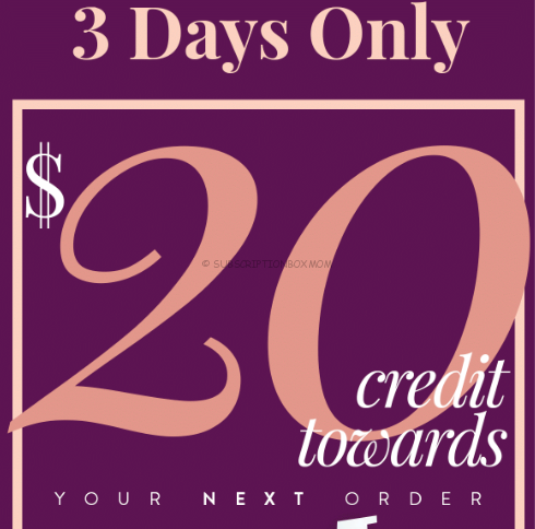 Free $20 Wantable Credit with Subscription