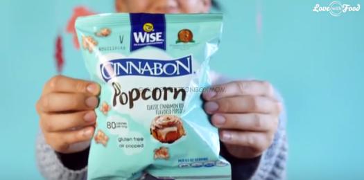 Cinnabon Popcorn from Wise