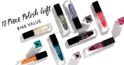 Free Julep 12 Piece Set with Subscription