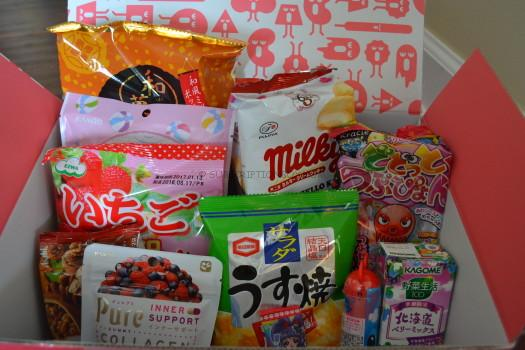 September 2016 Wowbox Kawaii and Beauty