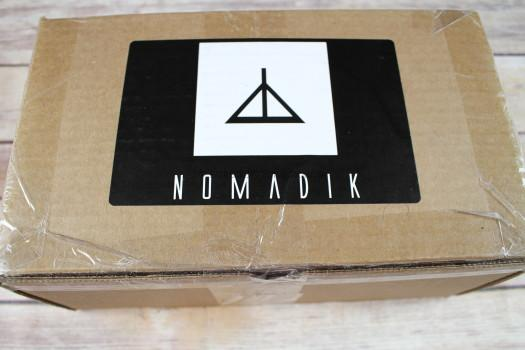 The Nomadik Subscription Box October 2016 Review