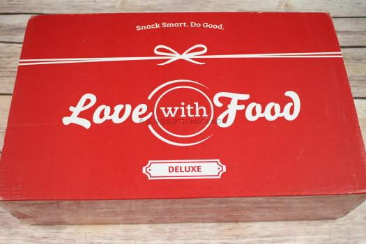 Love with Food November 2016 Deluxe Box Review