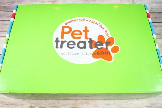 Pet Treater Box November 2016 Review