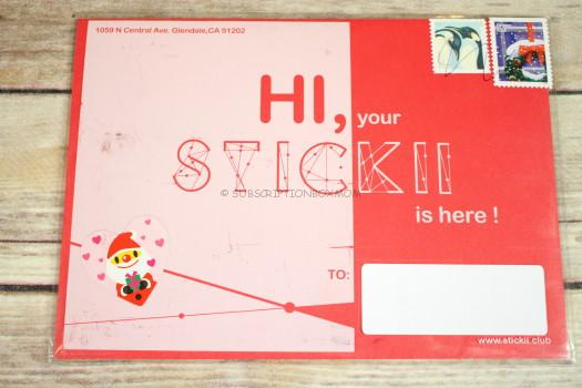 STICKII November 2016 Cute Sticker Review