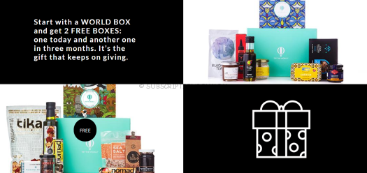 Try the World Black Friday 2017 Subscription Box Deal