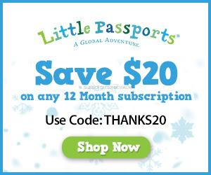 Little Passports Pre-Thanksgiving Coupon