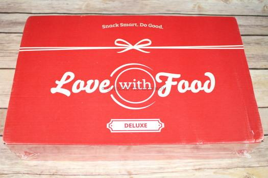 Love with Food December 2016 Deluxe Box Review