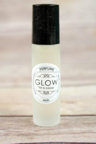 GLOW for a cause perfume in wish