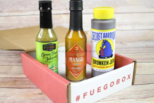 Fuego Box December 2016 Review