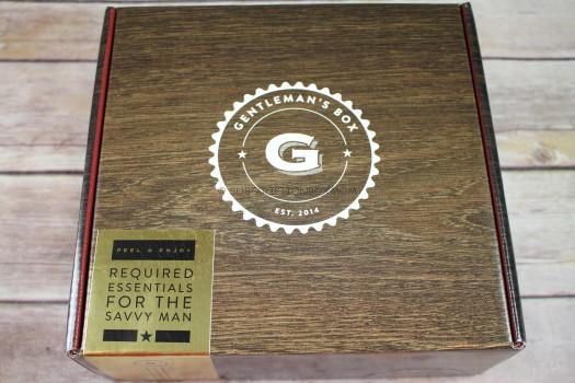 Gentleman's Box December 2016 Review