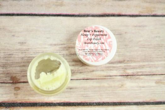 Bear's Beauty Hemp & Peppermint Lip Polish