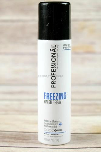 Professional Freezing Finish Spray