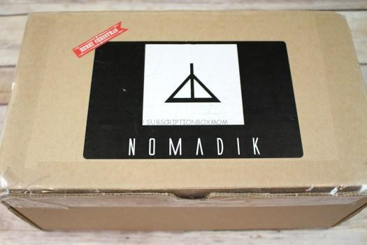 The Nomadik Subscription Box December 2016 Review