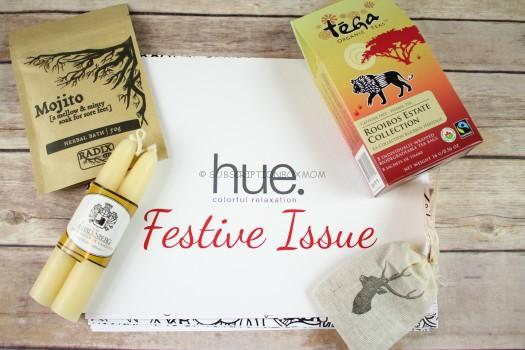 Hue Monthly Colorful Relaxation December 2016 Review