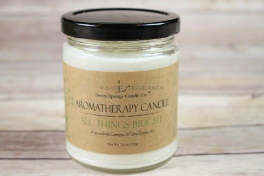 "Aromatherapy Candle ""All Thing Bright"""