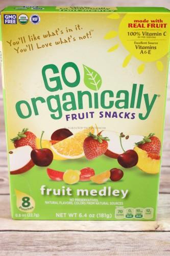 Go Organically Fruit Medley Fruit Snacks