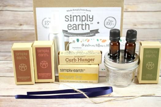 Simply Earth November 2016 Essential Oil Subscription Review