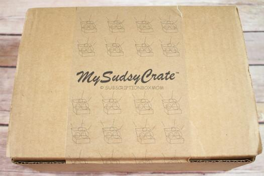 MySudsyCrate December 2016 Review