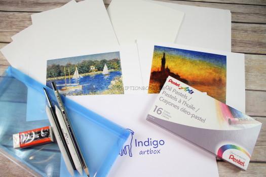 Indigo Art Box December 2016 Review