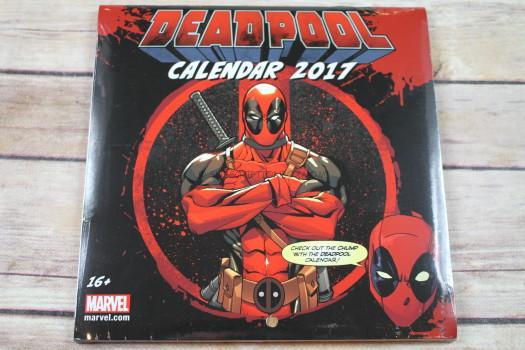 Deadpool 2017 Calendar