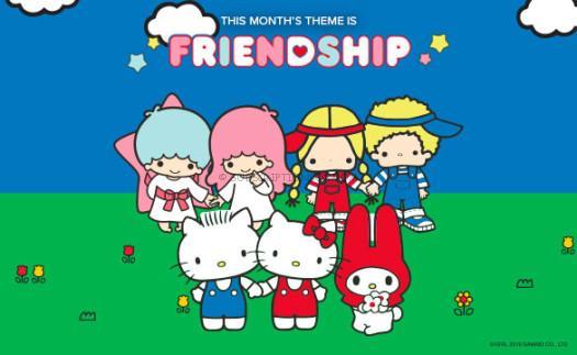 Sanrio_carousel-friendship
