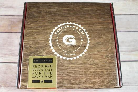 Gentleman's Box February 2017 Spoilers