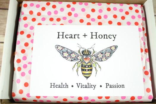 Heart + Honey Sticker