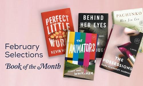 Book of the Month February 2017 Selections