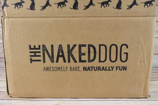 The Naked Dog Box March 2017 Subscription Box Review