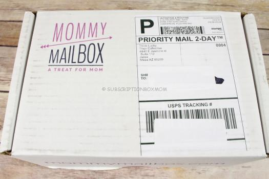 Mommy Mailbox March 2017 Review