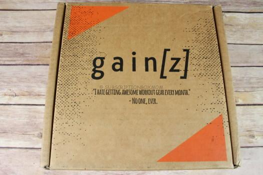 Gainz Box February 2017 Subscription Review