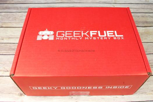 Geek Fuel March 2017 Review
