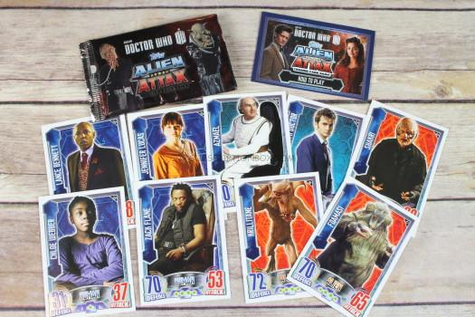 Topps Dr Who Alien Attax Trading Cards