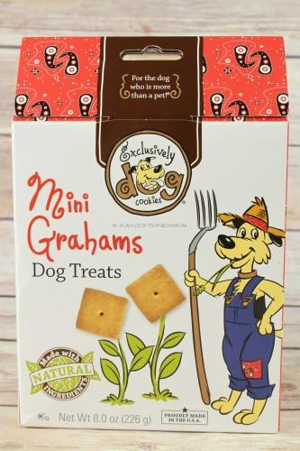 Exclusively Dog Cookies Mini Grahams Dog Treats