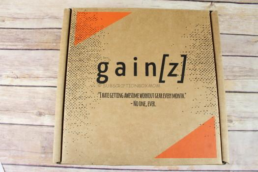 Gainz Box March 2017 Subscription Review