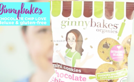 Ginnybakes Mini Chocolate Chip Organic Cookies