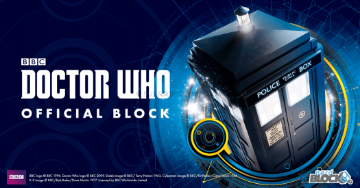 New Doctor Who Official Block from Nerd Block