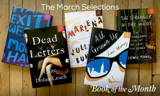 Book of the Month March 2017 Selections