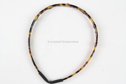 Tortoise Shell Embellished Headband